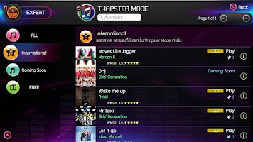 Screenshot of Thapster