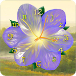 Flower Clock Live Wallpaper 4.4mr Apk