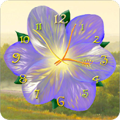 Download Flower Clock Live Wallpaper APK to PC