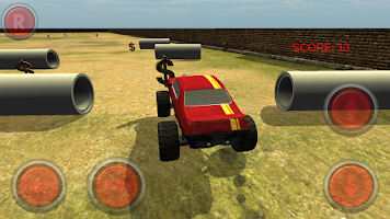 Screenshot of Monster Truck Drift 3D