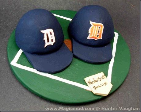 Baseball Team Wedding Cake Topper