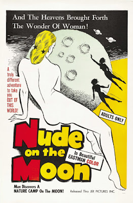 Nude on the Moon (1961, USA) movie poster