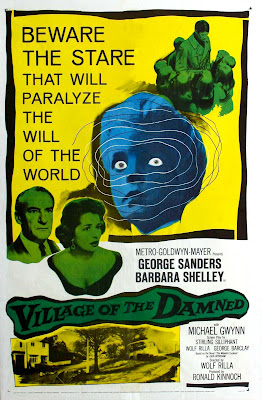 Village of the Damned (1960, UK / USA) movie poster