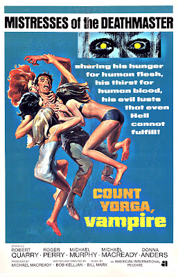 Count Yorga, Vampire (1970, USA) movie poster