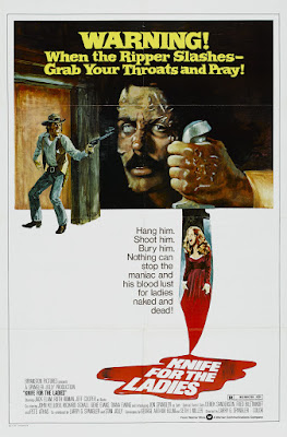A Knife for the Ladies (1974, USA) movie poster