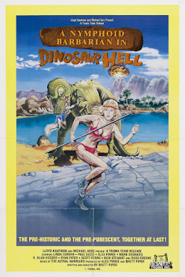 A Nymphoid Barbarian in Dinosaur Hell (1991, USA) movie poster