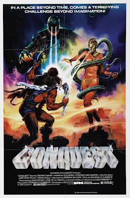 Conquest (La Conquista) (1983, Italy / Spain / Mexico) movie poster