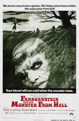 Frankenstein and the Monster from Hell (1974, UK) movie poster