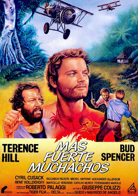 All the Way Boys! (Più forte, ragazzi!, aka Plane Crazy) (1972, Italy) movie poster