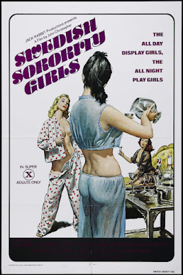 Swedish Sorority Girls (1977, USA) movie poster