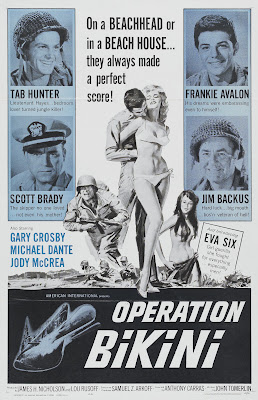 Operation Bikini (1963, USA) movie poster
