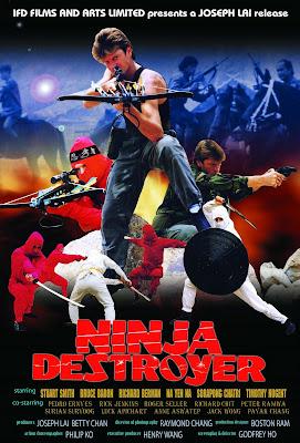 Ninja Destroyer (1986, Hong Kong) movie poster