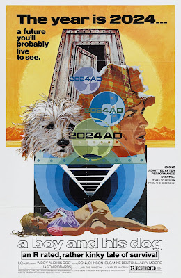 A Boy and His Dog (1975, USA) movie poster