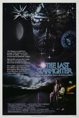 The Last Starfighter (1984, USA) movie poster