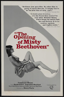 The Opening of Misty Beethoven (1976, USA) movie poster