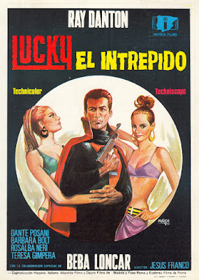 Lucky, the Inscrutable (Lucky, el intrépido, aka Special Agent L.K.) (1967, Spain / Italy / Germany) movie poster