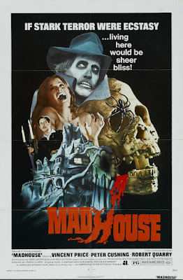 Madhouse (1974, UK) movie poster