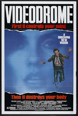 Videodrome (1983, Canada) movie poster