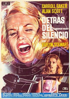 Knife of Ice (Il Coltello di ghiaccio, aka Silent Horror) (1972, Italy / Spain) movie poster
