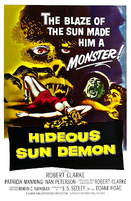 The Hideous Sun Demon (1959, USA) movie poster