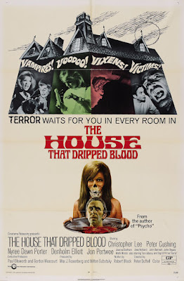 The House That Dripped Blood (1971, UK) movie poster