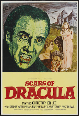 Scars of Dracula (1970, UK) movie poster