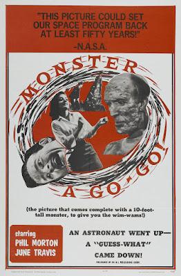 Monster A Go-Go (1965, USA) movie poster