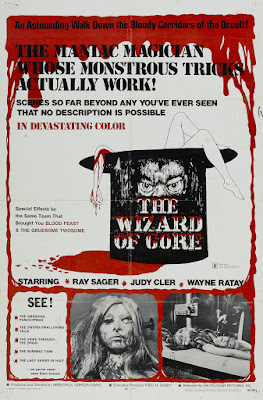 The Wizard of Gore (1970, USA) movie poster