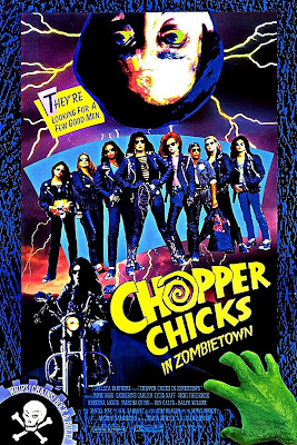 Chopper Chicks in Zombietown (1991, USA) movie poster