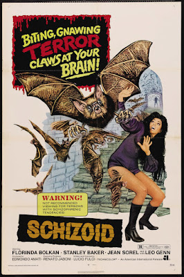 Lizard in a Woman's Skin (Una Lucertola con la pelle di donna, aka Schizoid) (1971, Italy / France / Spain) movie poster
