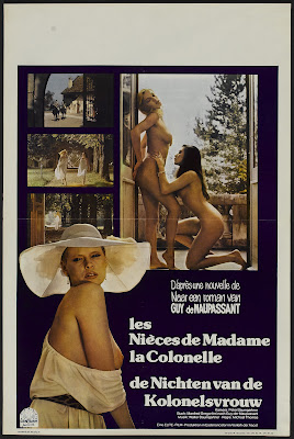 The Colonel's Nieces (Die Nichten der Frau Oberst, aka Guess Who's Coming for Breakfast) (1968, Germany / Italy) movie poster