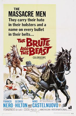 Massacre Time (Tempo di massacro, aka The Brute and the Beast) (1966, Italy) movie poster
