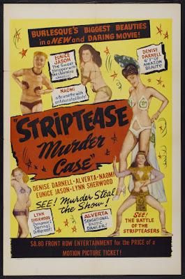 The Striptease Murder Case (1950, USA) movie poster