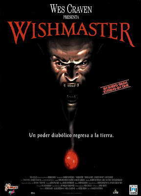Wishmaster (1997, USA) Spanish poster