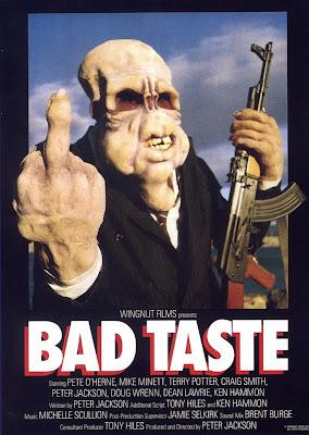 Bad Taste (1987, New Zealand) movie poster