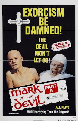 Mark of the Devil Part II (Hexen geschändet und zu Tode gequält / Witches: Violated and Tortured to Death) (1973, Germany / UK) movie poster
