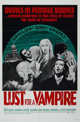 Lust for a Vampire (1971, UK) movie poster
