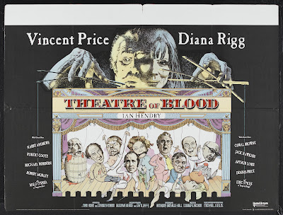 Theater of Blood (Theatre of Blood) (1973, UK) movie poster
