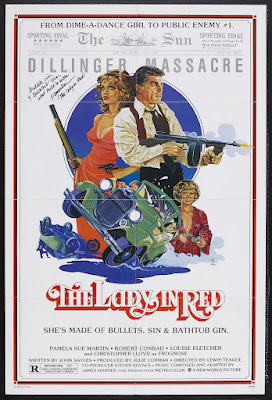 The Lady in Red (aka Guns, Sin and Bathtub Gin) (1979, USA) movie poster