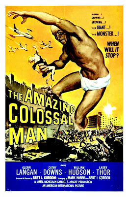 The Amazing Colossal Man (1957, USA) movie poster
