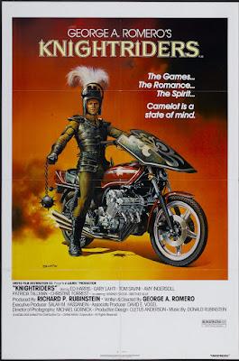 George A. Romero's Knightriders (1981, USA) movie poster