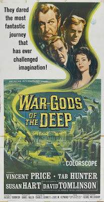 War-Gods of the Deep (aka The City Under the Sea) (1965, UK) movie poster