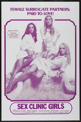 Sex Clinic Girls (1975, USA) movie poster