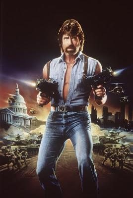 Invasion U.S.A. (1985, USA) poster art