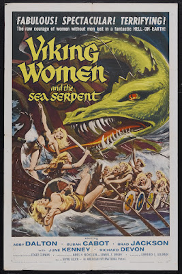 The Saga of the Viking Women and Their Voyage to the Waters of the Great Sea Serpent (1957, USA) movie poster