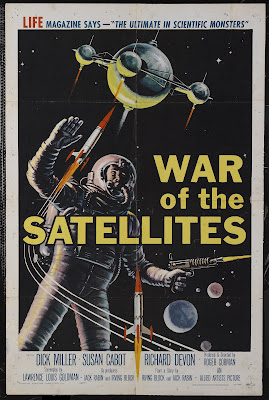 War of the Satellites (1958, USA) movie poster