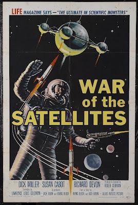 War of the Satellites (1958, USA) movie poster