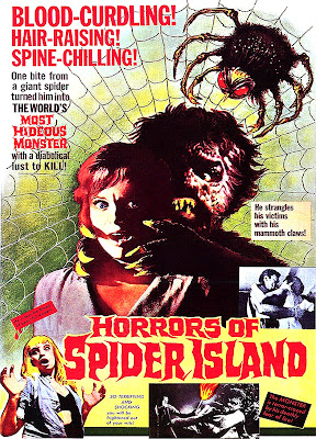 Horrors of Spider Island (Ein Toter hing im Netz / A Corpse Hangs in the Web, aka It's Hot in Paradise) (1960, Germany / Yugoslavia) movie poster