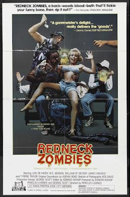 Redneck Zombies (1987, USA) movie poster