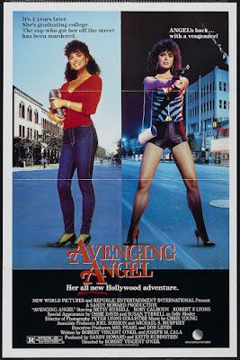 Avenging Angel (1985, USA) movie poster